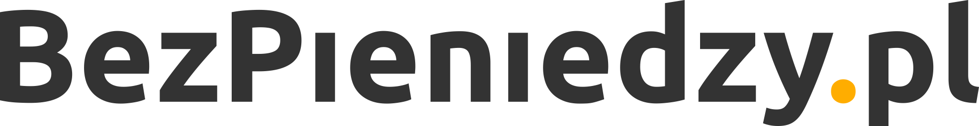 bez pieniedzy logo